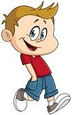 36893355-bambino-felice-che-cammina-con-le-mani-in-tasca